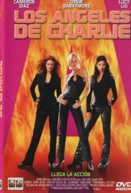Spanish DVDs - Charlies Angels