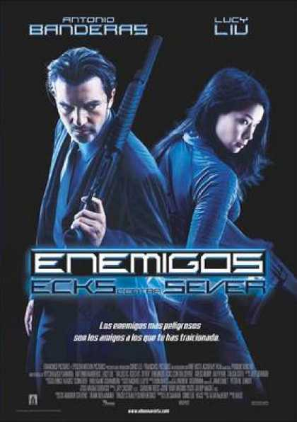 Spanish DVDs - Enemigos Ecks vs Sever