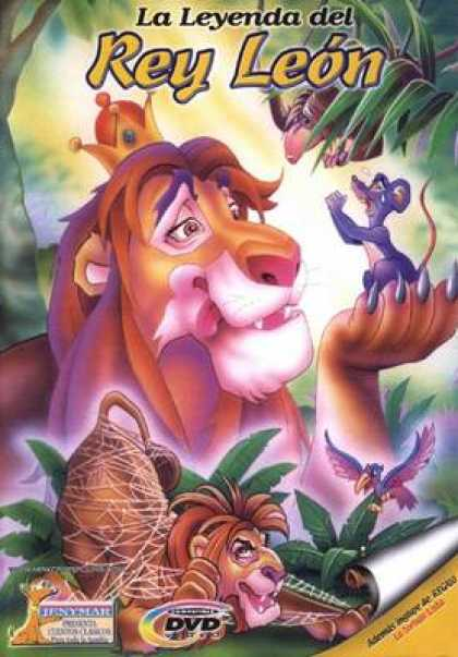 Spanish DVDs - Childrens Classics Volume 7 The Lion King