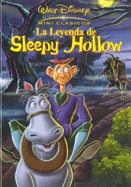 Spanish DVDs - The Legend Of Sleepy Hollow