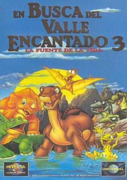 Spanish DVDs - The Land Before Time 3