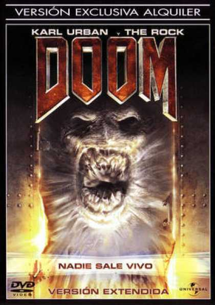 Spanish DVDs - Doom