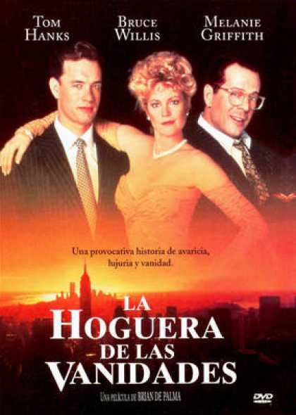 Spanish DVDs - The Bonfire Of The Vanities