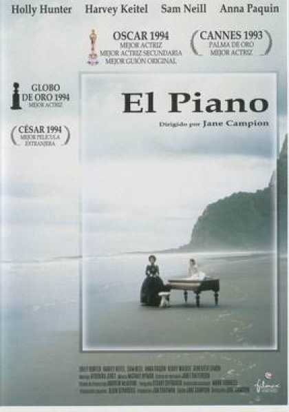 Spanish DVDs - The Piano