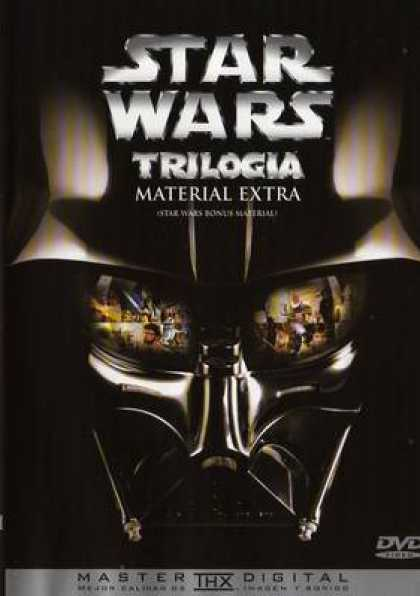 Spanish DVDs - Star Wars Trilogy Bonus Disk