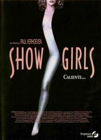 Spanish DVDs - Show Girls