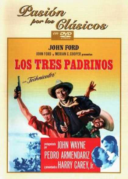 Spanish DVDs - 3 Godfathers