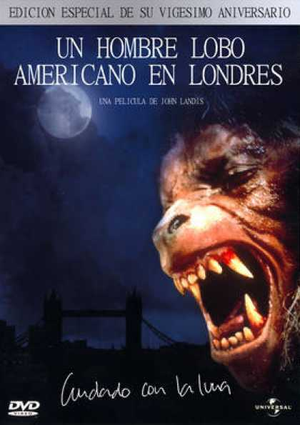 Spanish DVDs - An American Werewolf In London