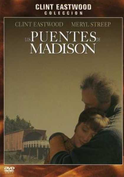 Spanish DVDs - The Bridges Of Madison County