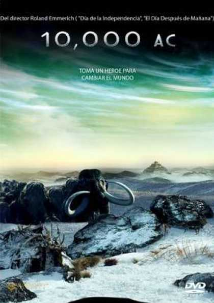 Spanish DVDs - 10,000 BC