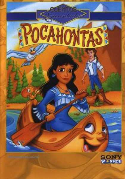 Spanish DVDs - Childrens Classics Vol 17 Pocahontas