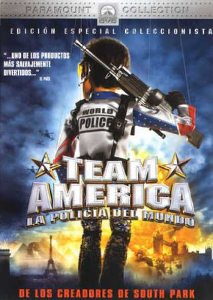 Spanish DVDs - Team America: World Police SCE