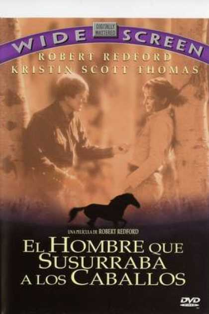 Spanish DVDs - The Horse Whisperer Widescreen