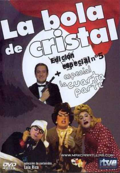 Spanish DVDs - The Crystal Ball Vol 5