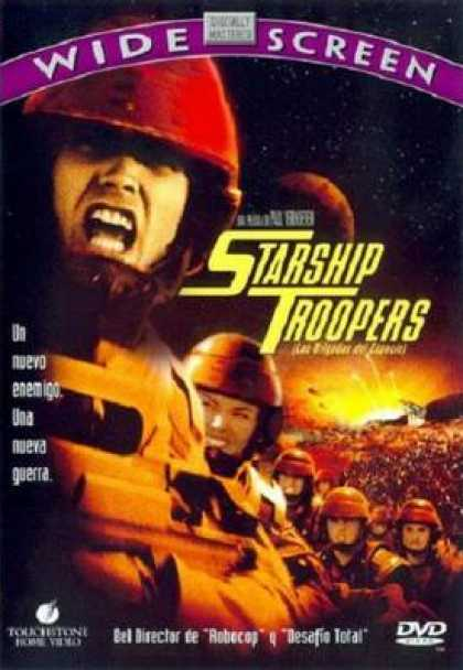 Spanish DVDs - Starship Troopers