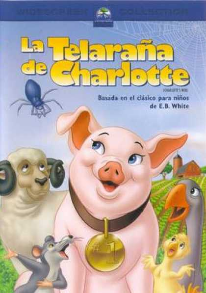 Spanish DVDs - Charlottes Web