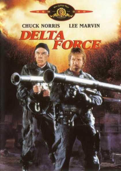 Spanish DVDs - The Delta Force