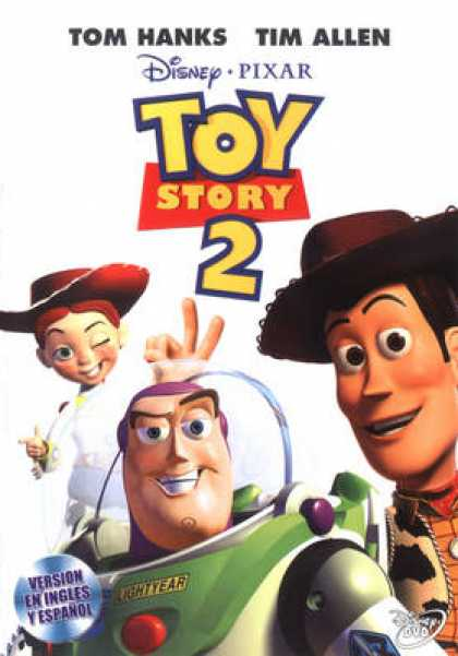 Spanish DVDs - Toy Story 2