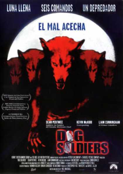 Spanish DVDs - Dog Soldiers