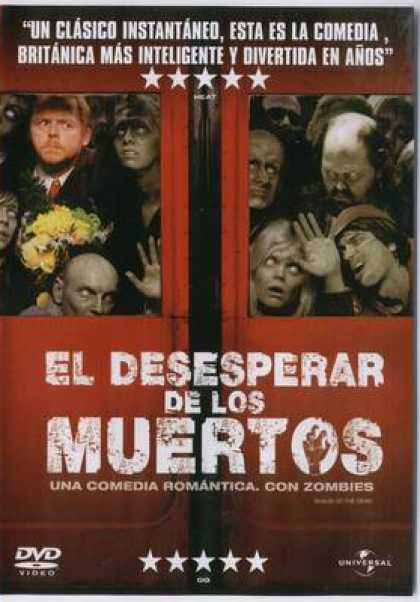 Spanish DVDs - Shaun Of The Dead