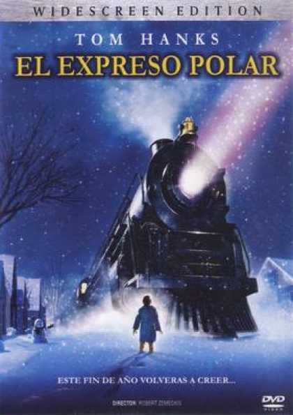 Spanish DVDs - The Polar Express