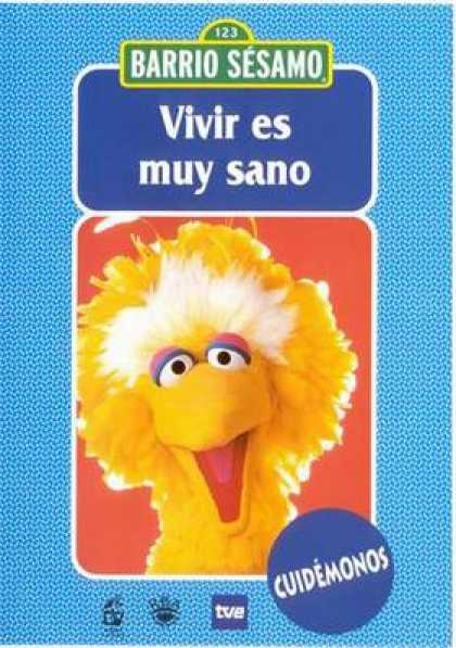 Spanish DVDs - Sesame Street Volume 3