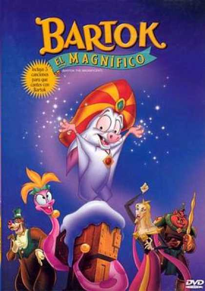 Spanish DVDs - Bartok The Magnificent