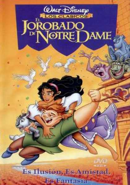Spanish DVDs - Disneys The Hunchback Of Notre Dame
