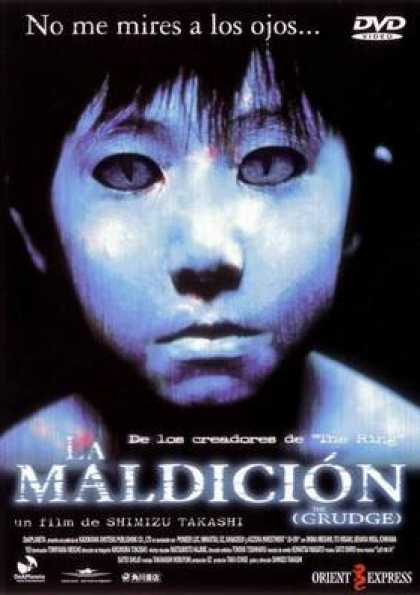 Spanish DVDs - The Grudge