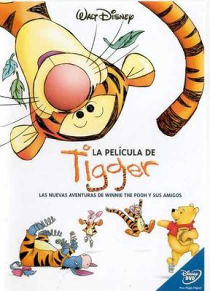 Spanish DVDs - Tigger The Movie