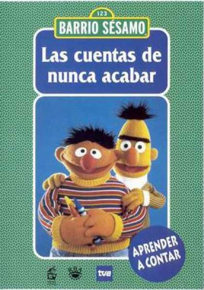 Spanish DVDs - Sesame Street Volume 1