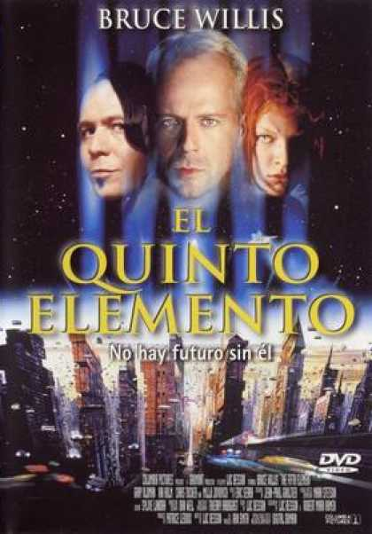 Spanish DVDs - The Fifth Element