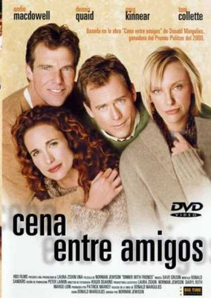 Spanish DVDs - Dinner With Friends