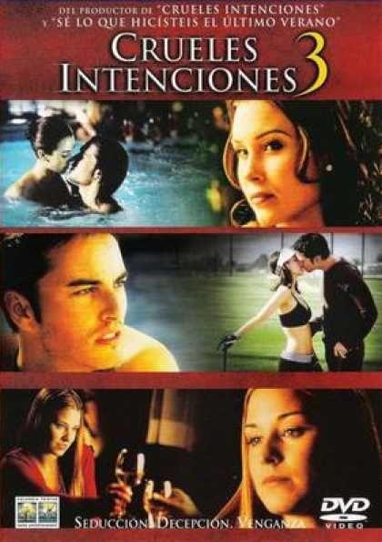 Spanish DVDs - Cruel Intentions 3