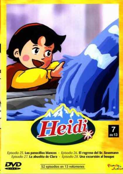 Spanish DVDs - Heidi The Collection Vol 7