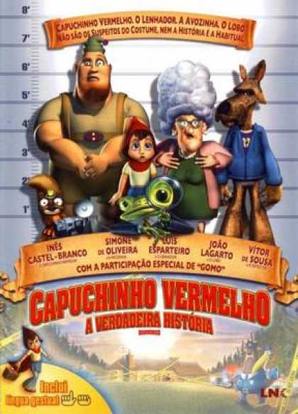 Spanish DVDs - Hoodwinked
