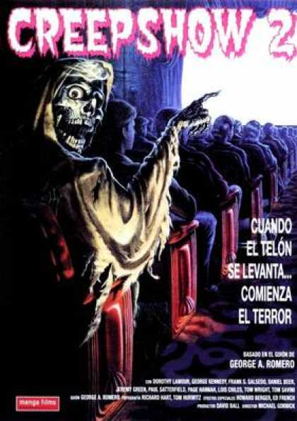 Spanish DVDs - Creepshow 2