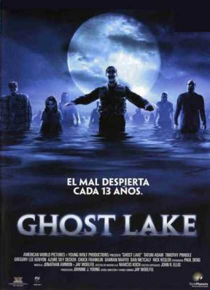 Spanish DVDs - Ghost Lake