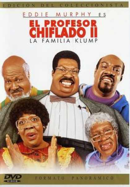 Spanish DVDs - The Nutty Professor 2