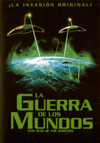 Spanish DVDs - The War Of The Worlds
