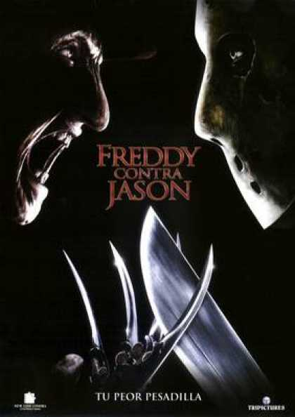 Spanish DVDs - Freddy Versus Jason