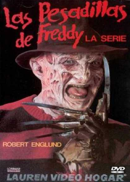 Spanish DVDs - Freddy Nightmares Series