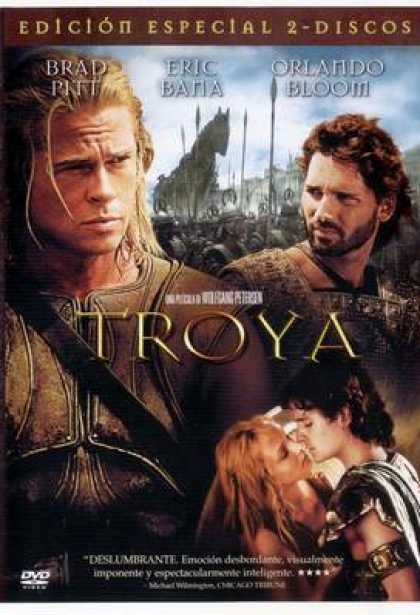 Spanish DVDs - Troy