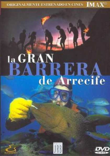 Spanish DVDs - Imax The Great Reef