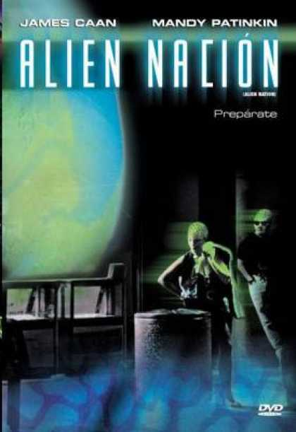 Spanish DVDs - Alien Nation