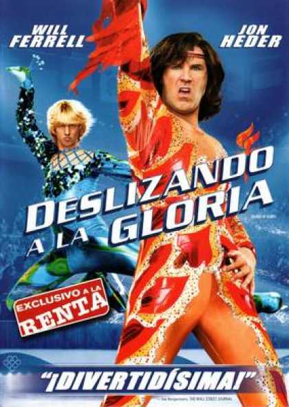 Spanish DVDs - Blades Of Glory (2007) SPANISH R4