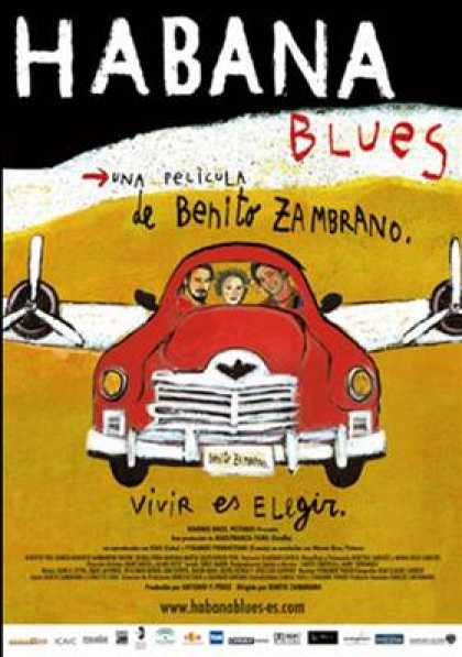Spanish DVDs - Habana Blues