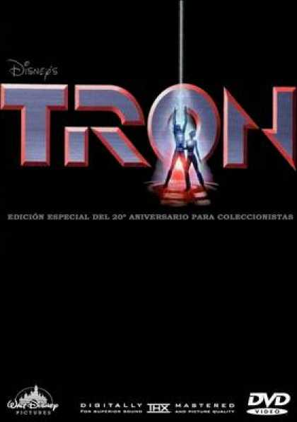 Spanish DVDs - Tron