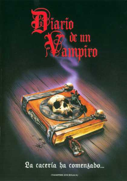Spanish DVDs - Vampire Journals