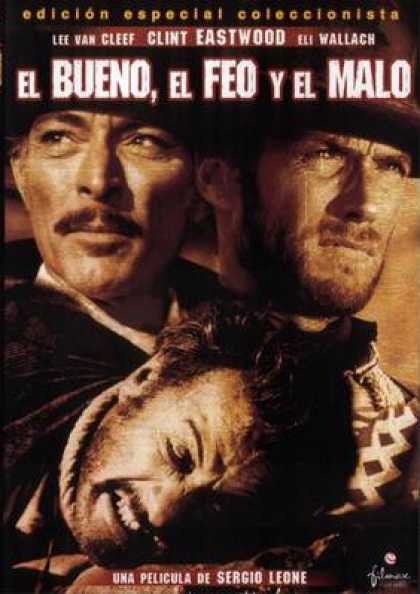 Spanish DVDs - The Good The Bad And The Ugly
